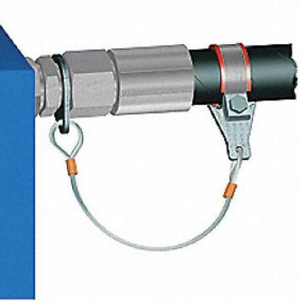 WRA - pojišťovací lanka hydraulických hadic