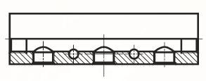 MANI1 - pneumatický hliníkový vícenásobný kus adaptéru