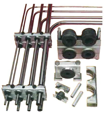 Multiclamp - Multi příchytky pro potrubí, hadice, kabely