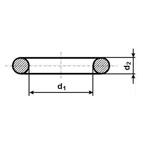O-kroužky MVQ-SILIKON -25°C až 220 °C
