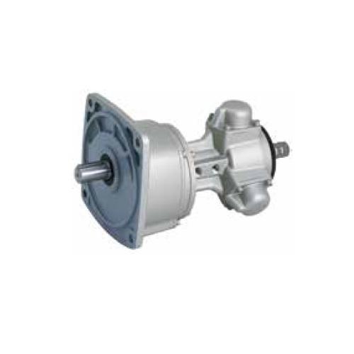 Pneumatické radiální reverzní pístové motory s převodovkou