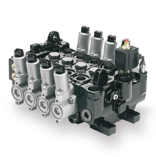 P70 - proporcionální směrový 6 sekční ruční rozvaděč ventilu