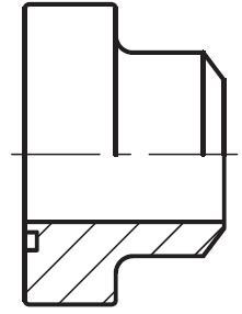 PAFS-B - hydraulická vysokotlaká přímá příruba na V-sváry