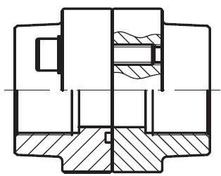 PDFS-G - hydraulická vysokotlaká přímá příruba, kompletní sada