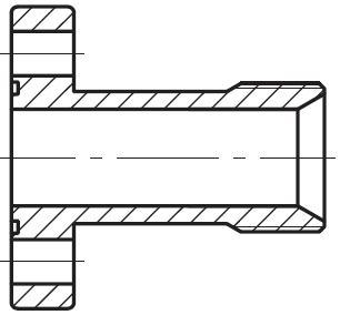 PFE - vysokotlaká přímá plochá dlouhá příruba zubového čerpadla