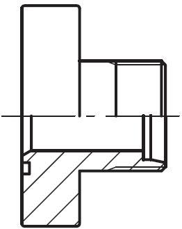 PFF-S\L - hydraulická vysokotlaká přímá příruba šroubení