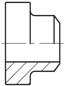 PGFS-B - hydraulická vysokotlaká přímá příruba, protikus