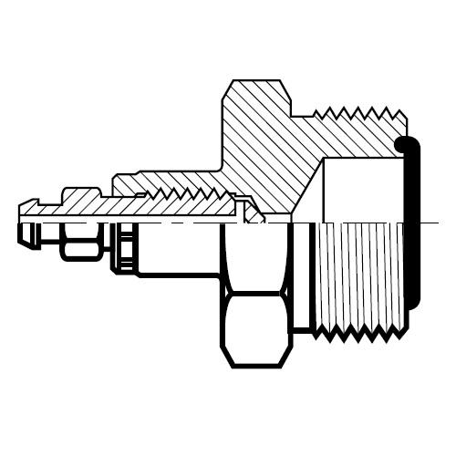 PNLOBA - hydraulická záslepka O-Lok