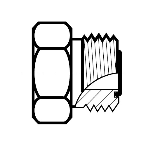 PNMLO - hydraulická ucpávka O-Lok