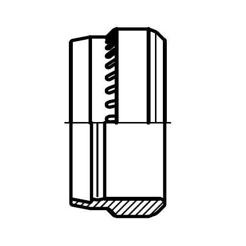 PSR - hydraulický progresivní ocelový zářezný kroužek