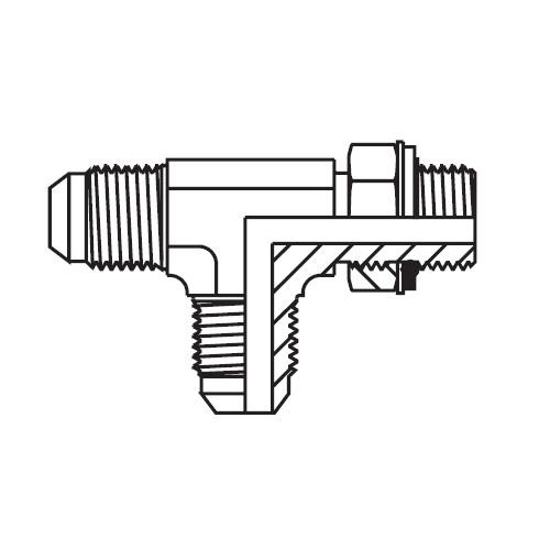 R4OMX - hydraulická stavitelná EL spojka Triple-Lok® 37°
