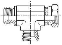 R6MK4 - hydraulický EL adaptér s otočnou maticí Swivel