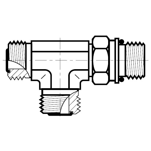 R87OMLO - hydraulická stavitelná EL spojka O-Lok