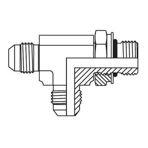 R87OMX - hydraulická EL spojka Triple-Lok® 37°