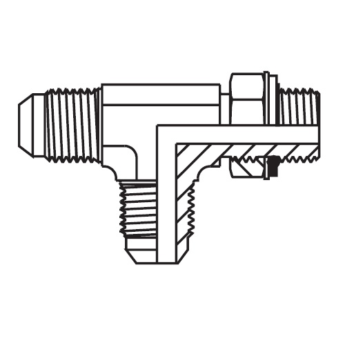 R8OMX - hydraulická EL spojka Triple-Lok® 37°