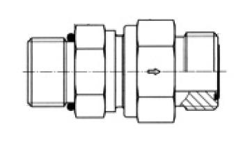 RHV5OMLOS - hydraulický jednosměrný zpětný ventil