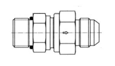 RHV5OMXS - hydraulický jednosměrný zpětný ventil