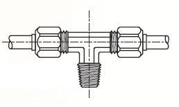 S3BM - nástrčná ET dvoudílná spojka mosazná Metrulok