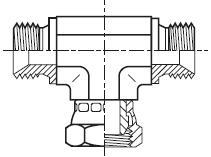 S6MK4 - hydraulický ET adaptér s otočnou maticí Swivel