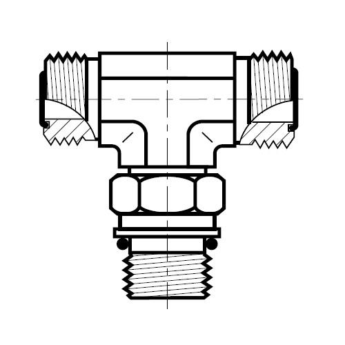 S87OMLO - hydraulická stavitelná ET spojka O-Lok