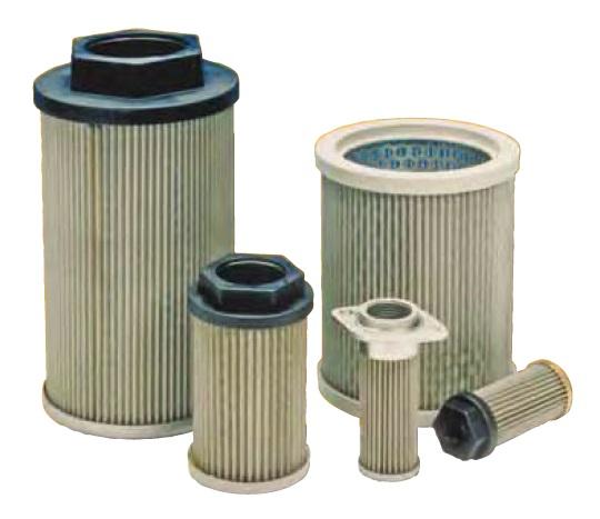 Sací filtrační vložky do nádrží