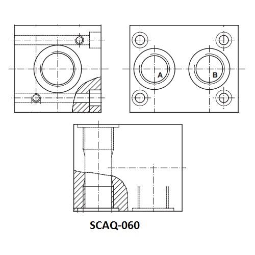 Sady náhradních dílů SC (těsnění a vymezovací kroužek)