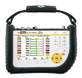 Service Master Plus - měřící přístroj hydraulických veličin