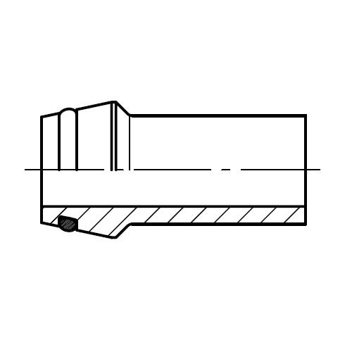 SKA-ORB - přivařovací kužel (na obvodu) šroubení