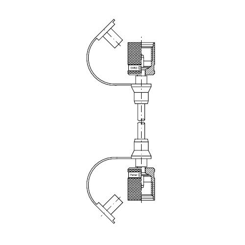 Vysokotlaké hadice pro měření tlaku SMA3, M16x2 vni
