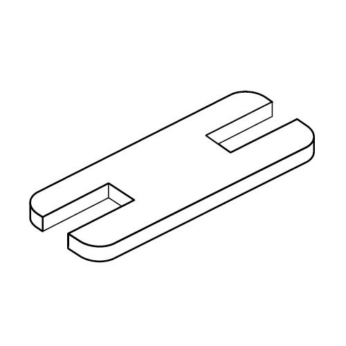 SPC - pojistná destička pro příchyty trubek série C
