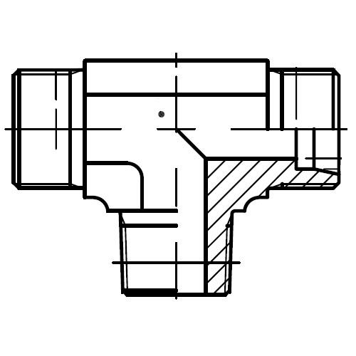 TE-R(KEG) - hydraulické T hrdlo