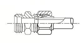TRBM - nástrčná trubková redukce mosazná Metrulok