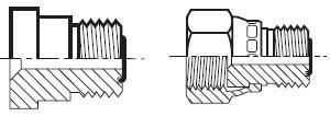 TRMLO - koncové šroubení s trubkovou redukcí O-Lok