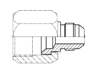 TRMTX - hydraulická redukce na konce trubek Triple-Lok® 37°