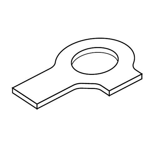 USB - pojistná podložka příchytek série B