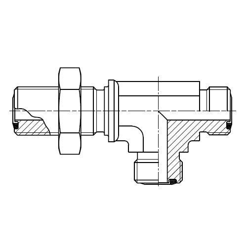 WJJLO - hydraulická spojka EL šroubení panelová