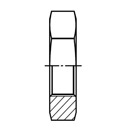 WLNML - hydraulická panelová fixační matice šroubení O-Lok