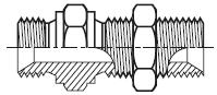 WMK4WL4NM - hydraulický adaptér přímý panelový