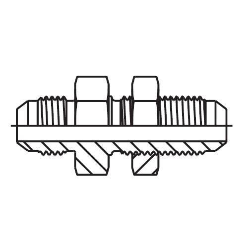 VMTX - hydraulická 45°úhlová spojka Triple-Lok® 37°