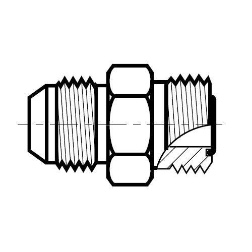 XHMLO - hydraulická převodní spojka na O-Lok\Triple-Lok
