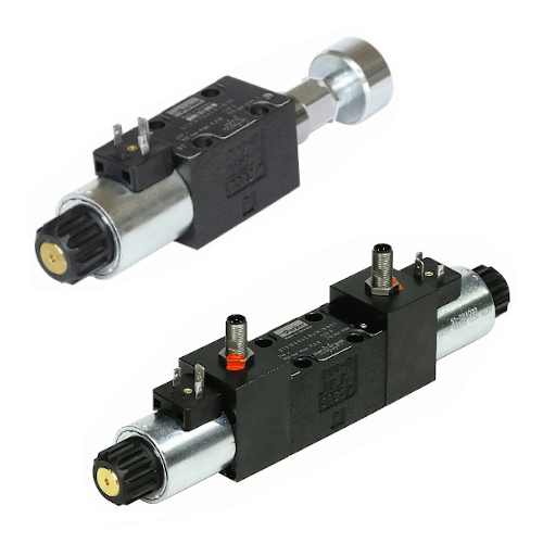 Hydraulické rozvaděče s indukčním snímáním poloh 12V