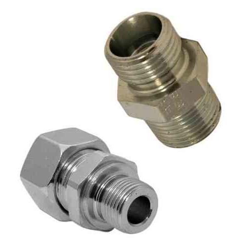GE-R(KEG) - hydraulické přímé hrdlo šroubení těsnění hranou