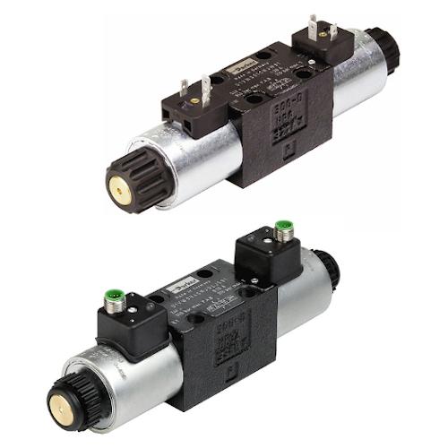 Hydraulické rozvaděče 8 Watt elektricky ovládané