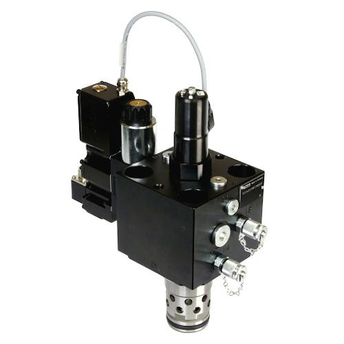 TDC-ES - 2-cestné vysoce výkonné proporcionální škrticí ventily