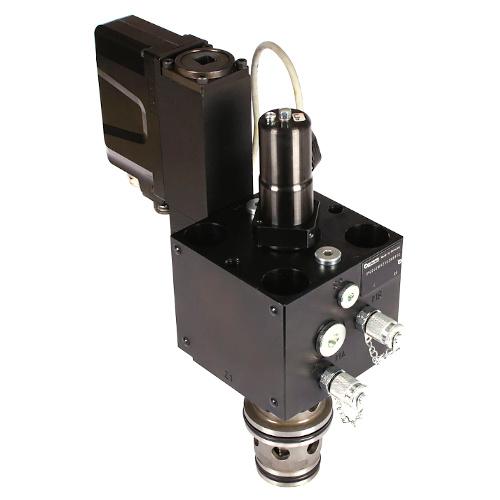 TPQ-WH - hydraulické proporcionální šktrící ventily