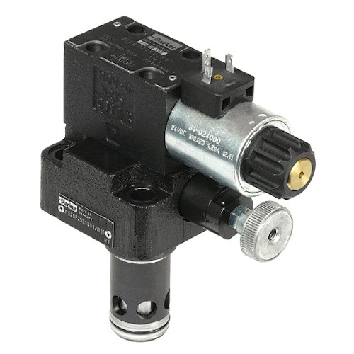 R-RS-E - hydraulické nepřímo řízené pojistné ventily