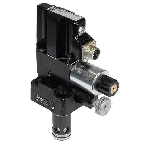 RE-E-T - proporcionální pojistné ventily s integr. elektronikou