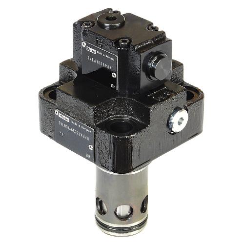SVLB - hydraulicky řízené zpětné ventily