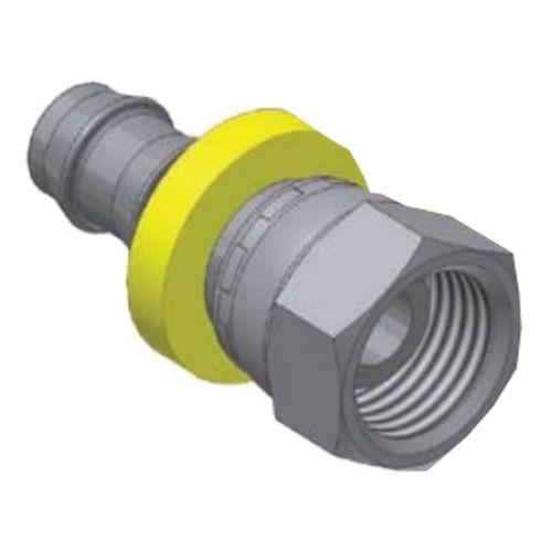 5C - Push-Lok koncovka DKL nástrčná přímá s maticí
