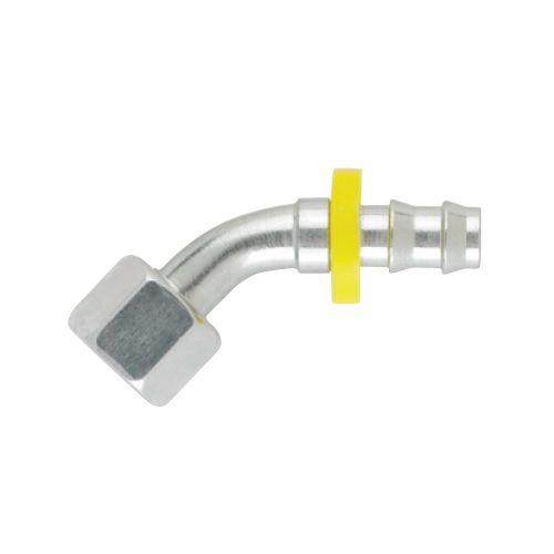 C4 - Push-Lok koncovka DKL 45° nástrčná s maticí